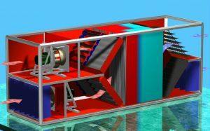 Stabilni regenerator klima naprava Menerga Resolair