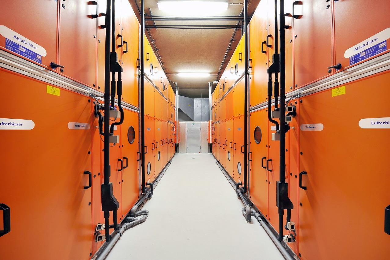Klimatsko-prezračevalne naprave Menerga z rekuperacijo / regeneracijo