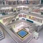 Klimatizacija knjižnic - mestna knjižnica Stuttgart