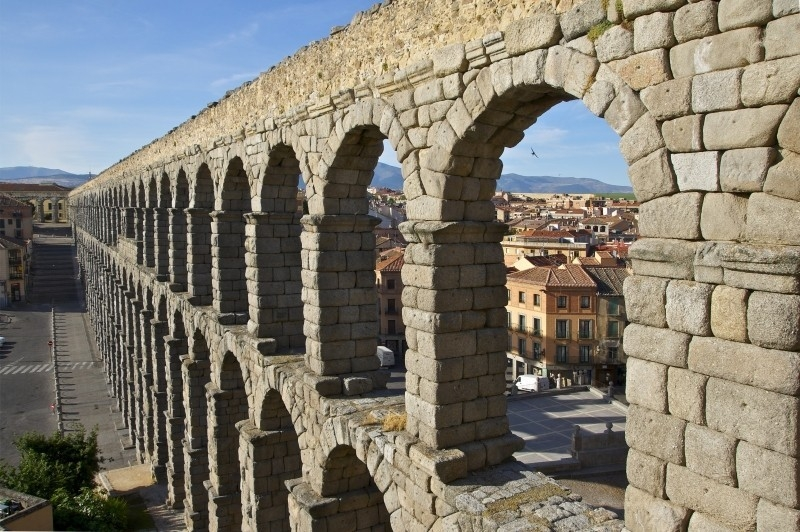 zgodovina klimatizacije - akvedukt