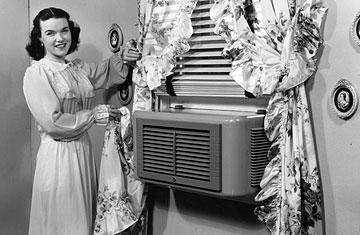 zgodovina klimatizacije - okenska klima