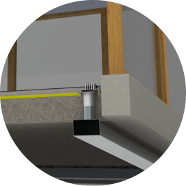 Linijski difuzorji - detajl