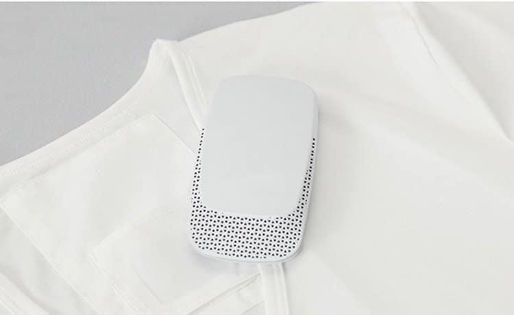 prenosna klimatska naprava majica