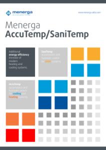 Menerga Accutemp Sanitemp - zalogovnik vode