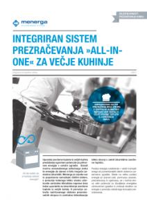 Prezracevanje Kuhinje restavracije - kuhinjski strop - klima - Menerga