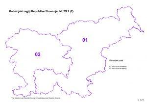 kohezijska regija slovenije