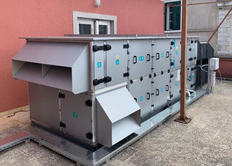 Systemair KA HSO-5/2-D-R-50, LG ARUM140LTE5