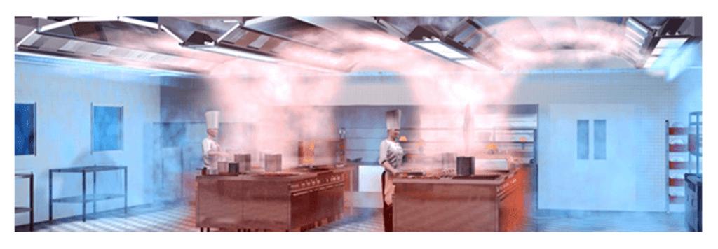 profesionalne kuhinjske nape - prezracevanje profesionalne kuhinje menerga