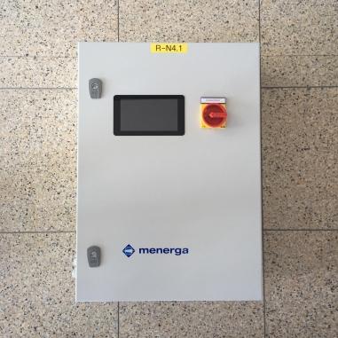 WebCapsule in Web Nadzorni sistem na elektro omarici.